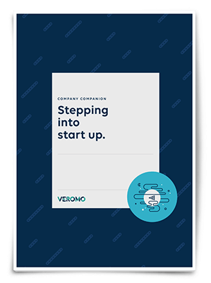 Veromo stepping into start-up guide.