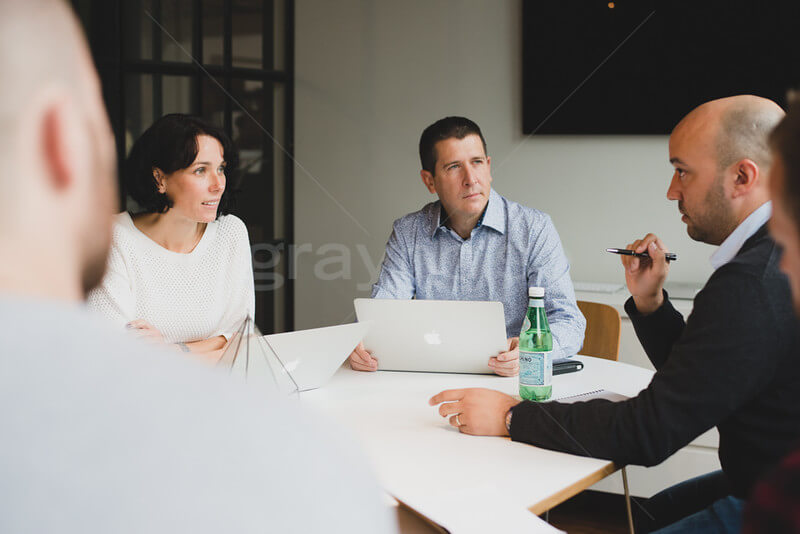 Veromo business meeting.